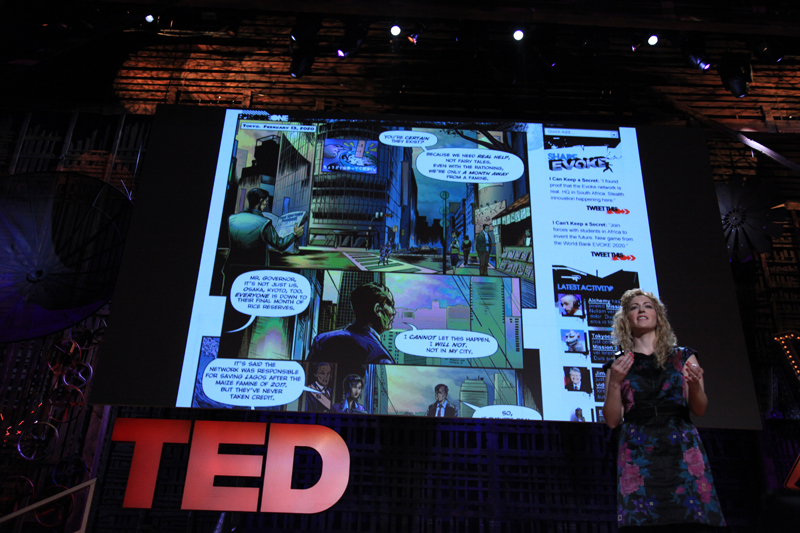 Jane McGonigal at TED 2010